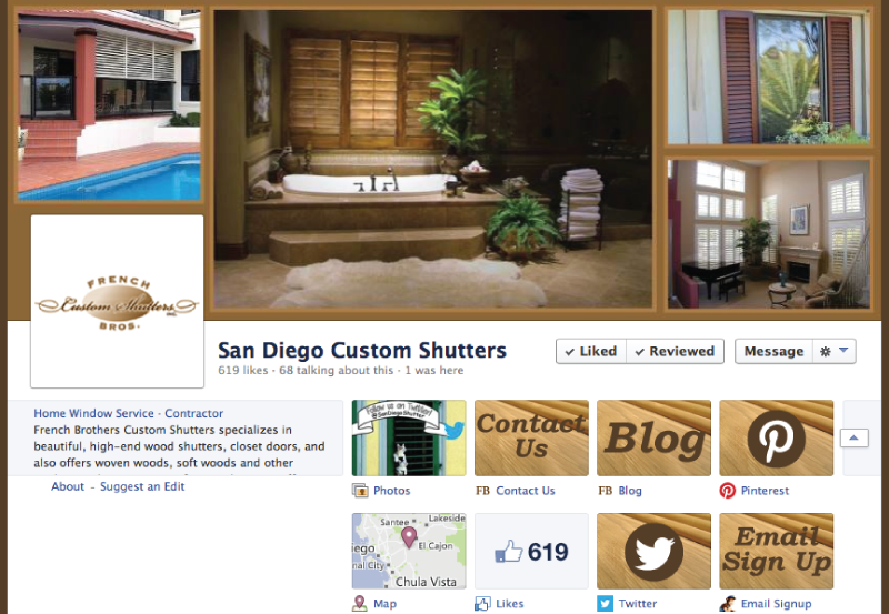 French-Brothers-Custom-Shutters-Facebook-Internet-Marketing-Social-Media-San-Diego-MySMN