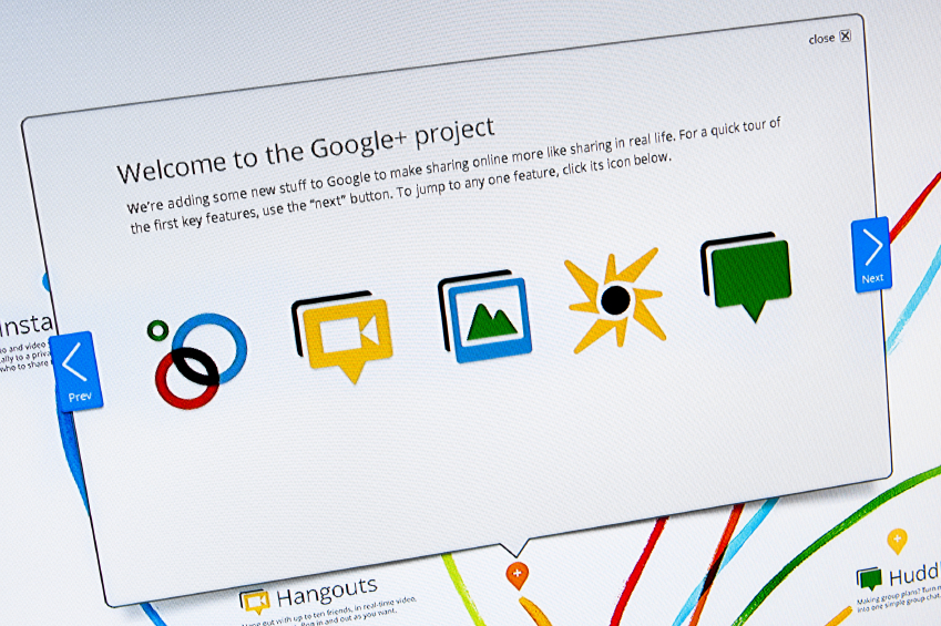 how to create google+ business page