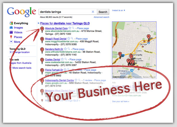 How Does Google Places Benefit Business explained by MySMN